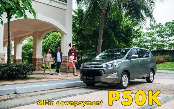 [Toyota promo] Toyota Innova 2.8 E MT Promo: All in Low DP of P50K